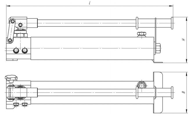 Гидравлическая схема насоса нрг